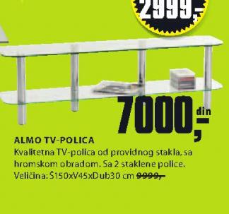 TV polica Almo