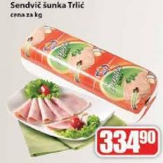 Šunka sendvič