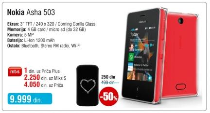 Mobili telefon 503