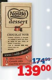 Čokolada dessert noir