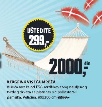 Viseća mreža Bergfink