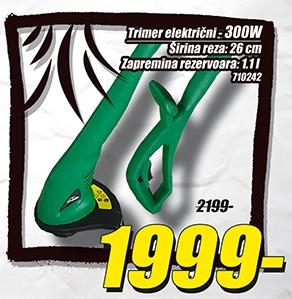 Trimer električni 300W
