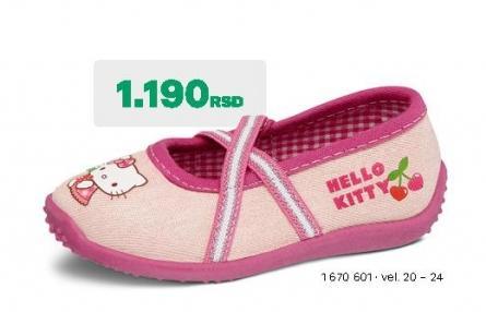 Dečije baletanke Hello Kitty