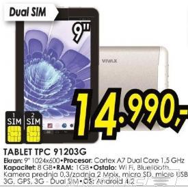 Tablet Tpc 91203g