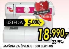 Šivaća mašina 1000 Sew Fun