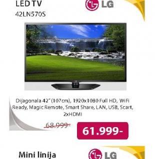 Televizor LED 42LN570S