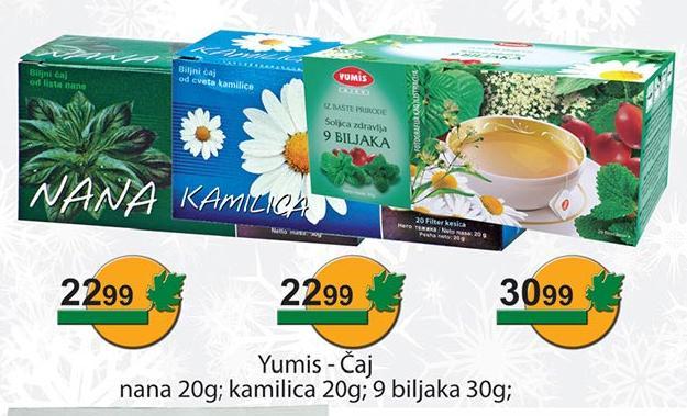 Čaj 9 biljaka