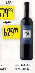 Crno vino Pelješac