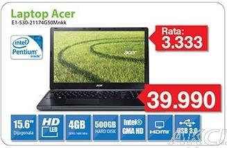 Laptop Aspire E1-530-21174g50Mnkk