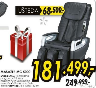 Fotelja Za Šijacu Masažu Mc 5000
