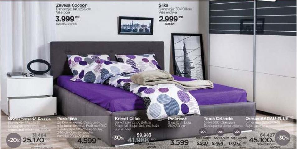 Krevet Celio