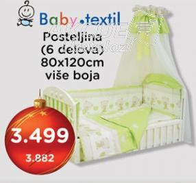 Posteljina Baby Textil