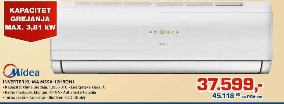 Klima inverter MS9A-12HRDN1