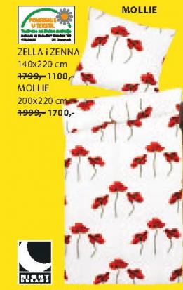 Set posteljine Molie, 200x220cm