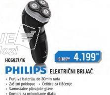 Električni Brijač Hq6927/16