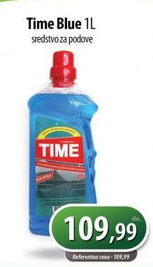 Sredstvo za čišćenje podova Time