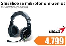 Slušalice sa mikrofonom HS-G600 MORDAX