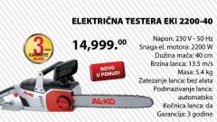 Električna testera EKI 2200-40
