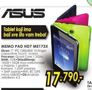 MemoPad HD7 ME173X