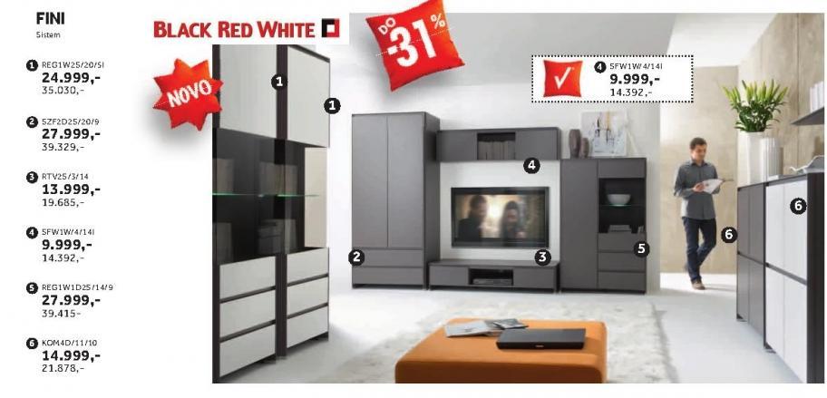 Regal Reg1w2s/20/5l Fini Black Red White