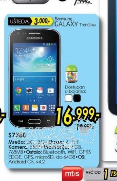 Telefon Galaxy Trend Plus S7580