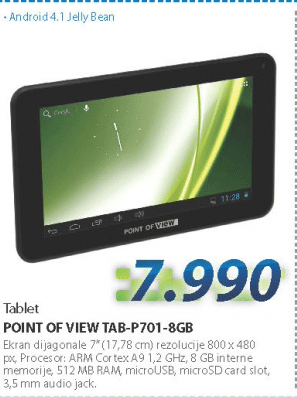 Tablet TAB-P701-8GB