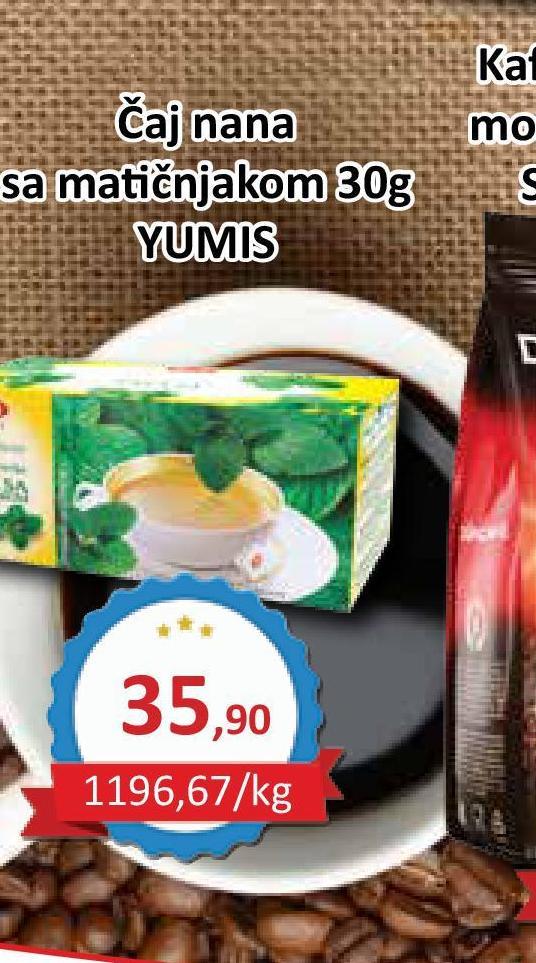 Čaj nana i matičnjak