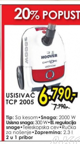 Usisivač Tcp 2005