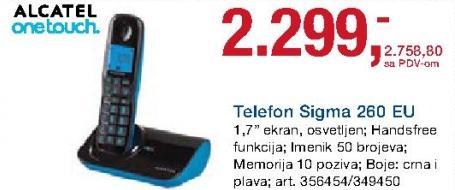 Bežični telefon Sigma 280 Eu