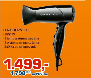 Fen Za Kosu PHD2511B
