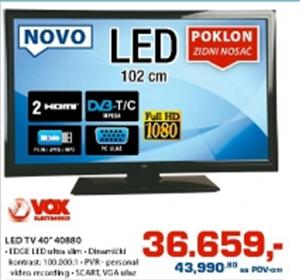 "LED TV 40"" 40880"