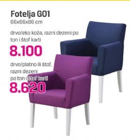 Fotelja G01