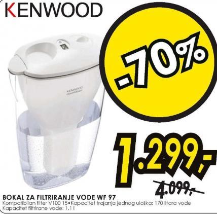 Bokal za filtriranje vode WF97