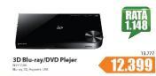 Blu-ray/DVD Player 3D Samsung BD-F5500/EN, HDMI USB LAN