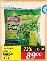 Smrznuta zelena boranija