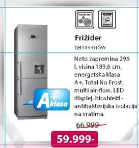 Frižider GB3133TIGW