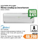 Klima uređaj Midea MSY-12HRDN1
