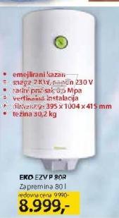 Bojler Ezv P 80R EKO
