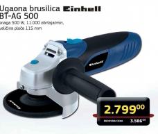 Ugaona brusilica BT-AG 500