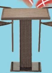 Baštenski sto Block
