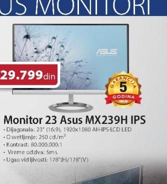 Monitor 23 MX239H