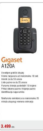 Fiksni bežični telefon A120