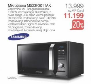 Mikrotalasna rerna Ms23f301tak