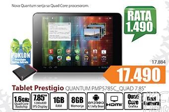 Tablet Quantum PMP5785C_Quad 7,85''