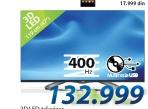3D LED Televizor LG  47LA660S + Poklon mobilni telefon L5