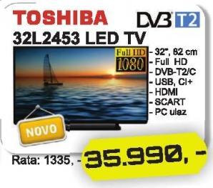 """Televizor LED 32"""" 32l2453"""