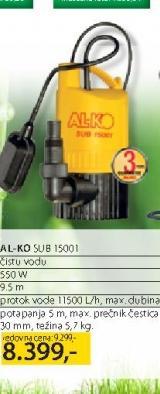 Potapajuća Pumpa SUB 150001