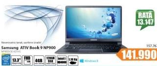 Laptop ATIV Book 9 NP900X3E-K01HS