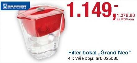 Filter bokal Grand Neo