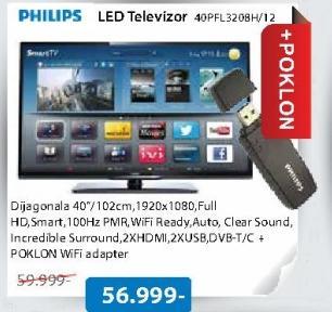 Televiozr LED 40PFL3208H/12